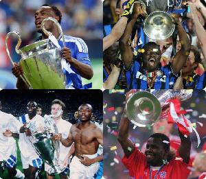 Ghana's UEFA Champions League winners