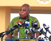 Ishmael Ashitey,Greater Accra Regional Minister