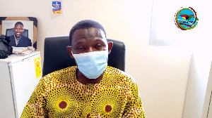 Acting  PRO of the Tamale Teaching Hospital, Mr. Misbawu Mohammed