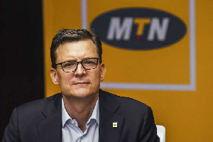 MTN Group President and CEO, Rob Shutter