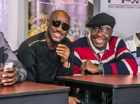 2face Idibia hangs out with friends in Kenya.