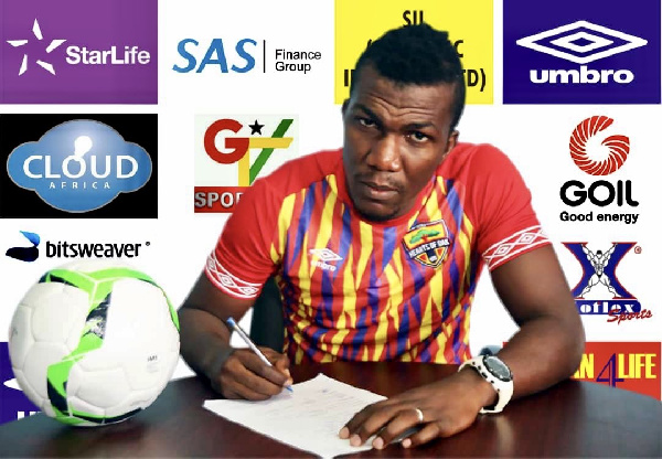 Hearts of Oak to unleash fit-again Abednego Tetteh on Inter Allies