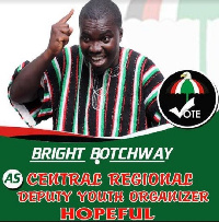 Bright Botchway, General Secretary of Young Cadres Association