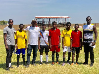 GFA officials with some players