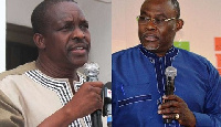 Alban Bagbin and Ekwow Spio-Garbrah are both aspiring for the flagbearship of the NDC