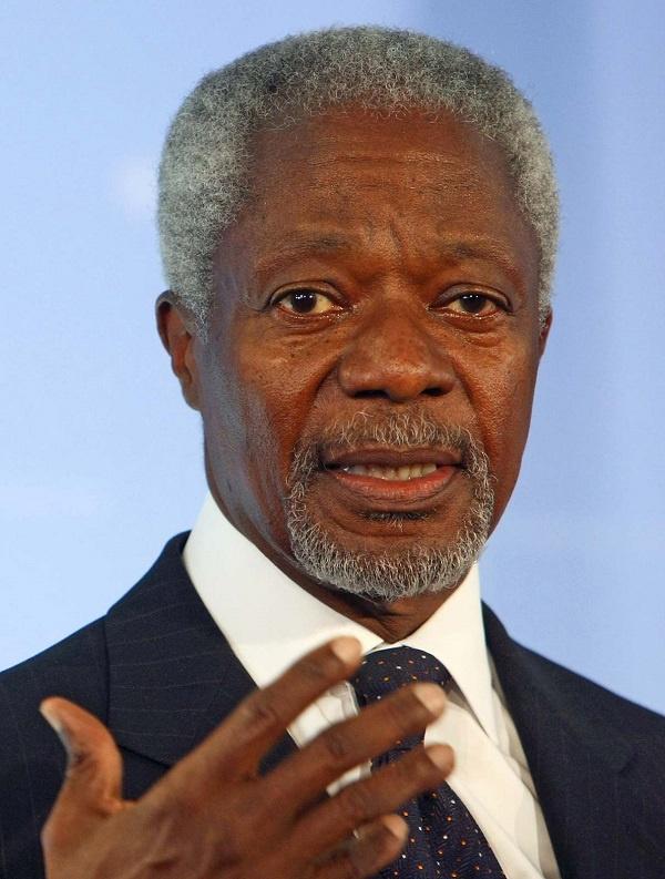 Flashback: Legalise cannabis – Kofi Annan