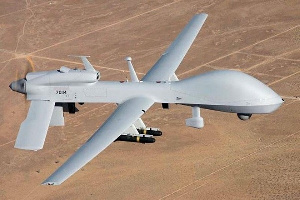 A photo of a drone