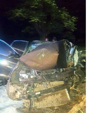 A photo of one of the affected cars