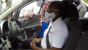 Diva Taxi is a new female taxi driver service in Uganda