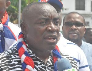 Kwabena Agyei Agyepong NPP Gen Sec