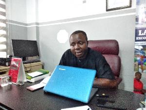 Ibrahim Oppong Kwarteng, Executive Director, Crime Check Foundation