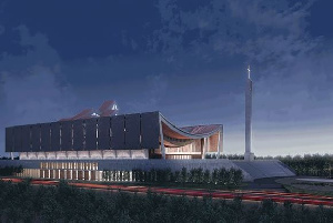 Artistic impression of the yet-to-be built National Cathedral