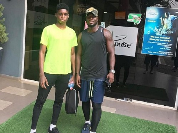 Stephen Appiah's son wants to be better than dad