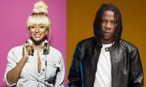 DJ Cuppy featured Stonebwoy on her song titled 'Karma