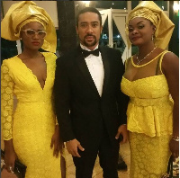 Christabel Ekeh, Majid Michel and Beverly Afaglo