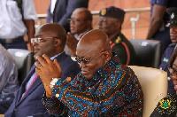 President Akufo-Addo and Vice President Dr. Bawumia