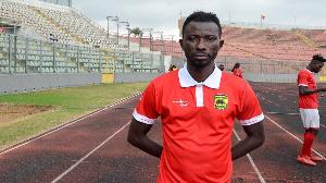 Kumasi Asante Kotoko midfielder, Jordan Opoku