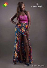Central Region's Esi wins 2015 Ghana's Most Beautiful