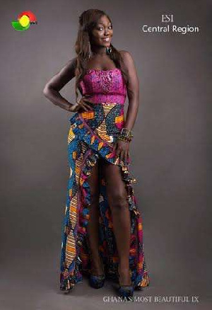 Central Region's Esi wins 2015 Ghana's Most Beautiful