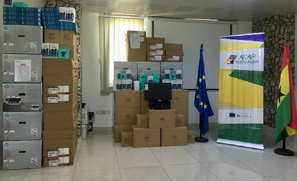 ARAP national stakeholder institutions receive equipment