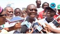 NDC Presidential Hopeful, Sylvester Mensah