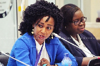 Barbara Asher Ayisi, a Deputy Minister in- charge of Technical and Vocational Education Training