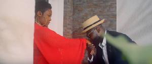 Emelia Brobbey's video stars Bernard Aduse Poku