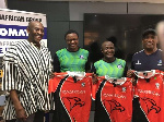 Mensah showed Ghana Rugby's appreciation for the valuable work done by the educators and trainers