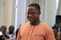 Minister of Lands and Natural Resources, John Peter Amewu