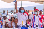 National Women's Organiser of the NPP visited the constituency recently