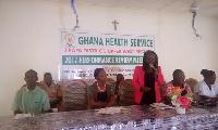 Madam Pheobe Balagumyetime, Jirapa District Director of Health Services
