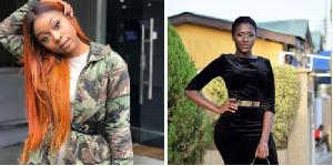 Efia Odo and Fella Makafui