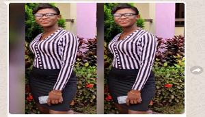 The late Sandra Obeng