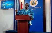 Kojo Oppong Nkrumah, Information Minister