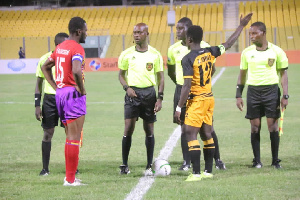 Hearts of Oak take on Ashantigold