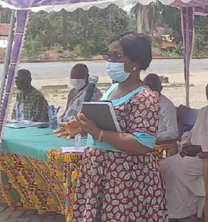 North Dayi District Health Director, Eve Passa