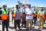 Alan Kyerematen pays working visit to Ibrahim Mahama's cement plant