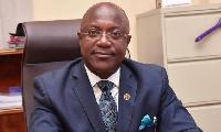C.E.O of National Identification Authority (NIA), Professor Kenneth Attafuah