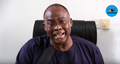 Spio-Garbrah lauds selection of  Prof Opoku-Agyemang as running mate