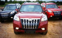Some vehicles manufactured by Kantanka Automobile