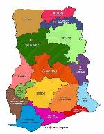 File Photo: A map of Ghana