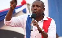 Acting General Secretary party John Boadu