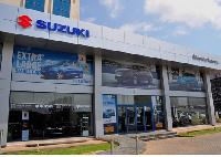 Suzuki dealership office in Accra