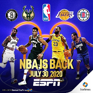 StarTimes will broadcast the NBA games