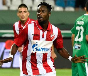 Ghanaian striker Richmond Boakye-Yiadom