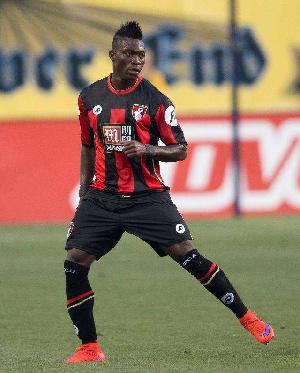 Black Stars player Christian Atsu