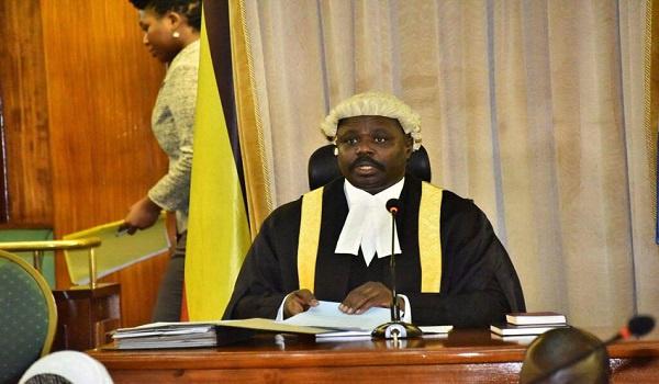 Jacob Oulanyah,  Speaker of parliament of Zimbabwe