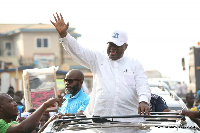 Nana Akufo-Addo during the electioneering