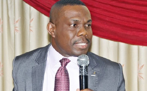 Dr. Eric Oduro Osae, Director General of the Internal Audit Agency