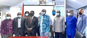 Photo of some members of the Ghana Maritime Authority (GMA)